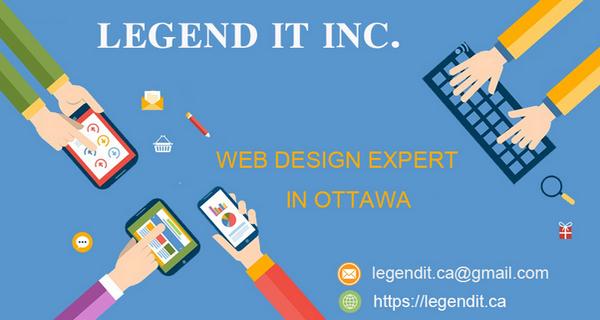 渥太华专业网站开发   Legend IT 传奇科技