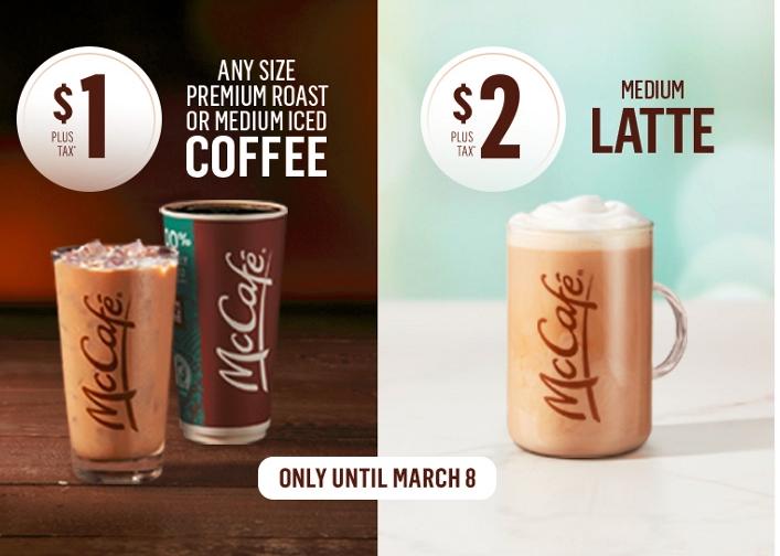 缩略图 | 【优惠快报】好便宜, 麦当劳咖啡1刀喝起来!美味早餐McMuffin只需3元!