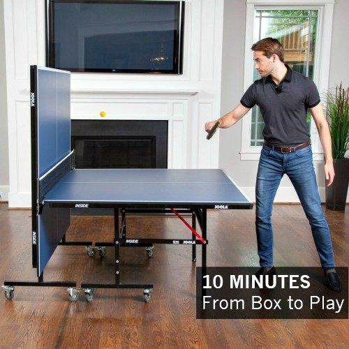 缩略图 | 手慢无!历史最低价!德国JOOLA 折叠式乒乓球桌 283.01加元包邮!