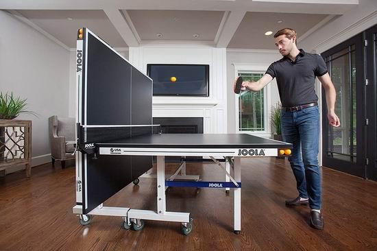 缩略图 | 6.1折! 亚马逊销量第一的乒乓球桌优惠了!德国优拉JOOLA,著名乒乓品牌!