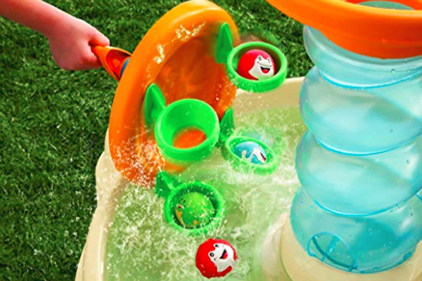 缩略图 | 【优惠结束】39加元包邮,半价优惠!小朋友喜欢的海洋世界儿童戏水桌开枪啦!