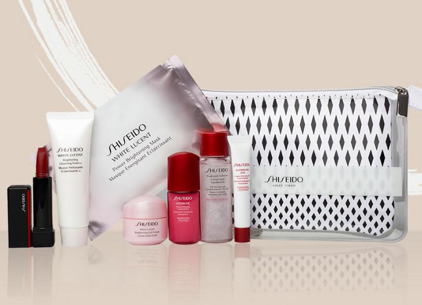 缩略图 | 【优惠快报】 资生堂Shiseido官网送大礼包啦,价值144刀8件大礼包快去抢!