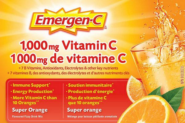 缩略图 | 增强免疫力!精选多款 Emergen-C 维他命C冲剂、泡腾片12.47加元起!