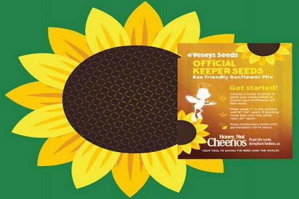 缩略图 | General Mill公司 免费赠送向日葵种子!