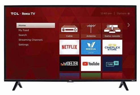 缩略图 | 【优惠快报】宅家必备TCL40英寸 全高清智能电视 259.99加元包邮!
