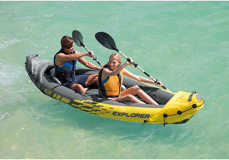缩略图 | 【优惠快报】浪漫夏日划小船,Intex Explorer  二人充气皮划艇 138.74加元包邮!