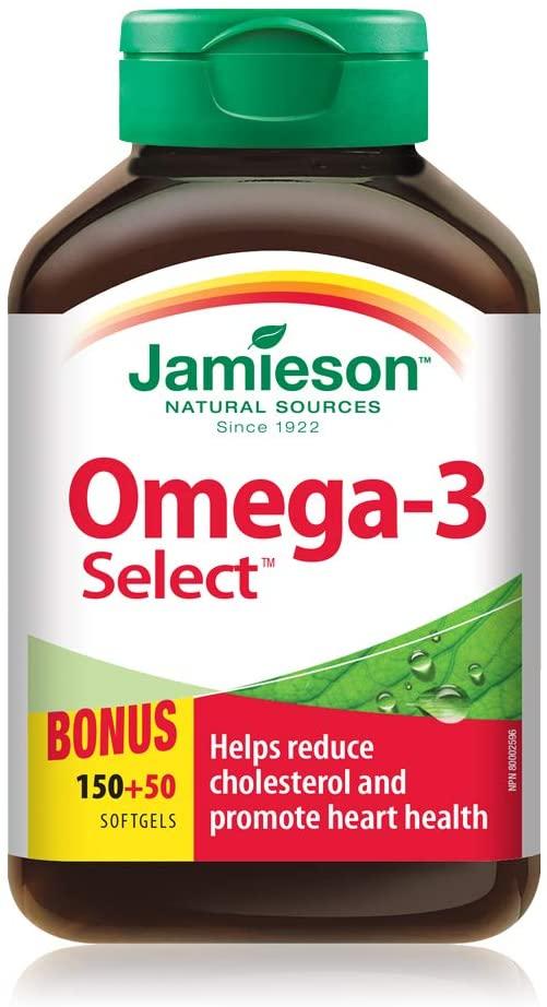 缩略图 | 历史最低价!Jamieson 健美生 Omega 3(200粒) 8.99加元!比沃尔玛还便宜!