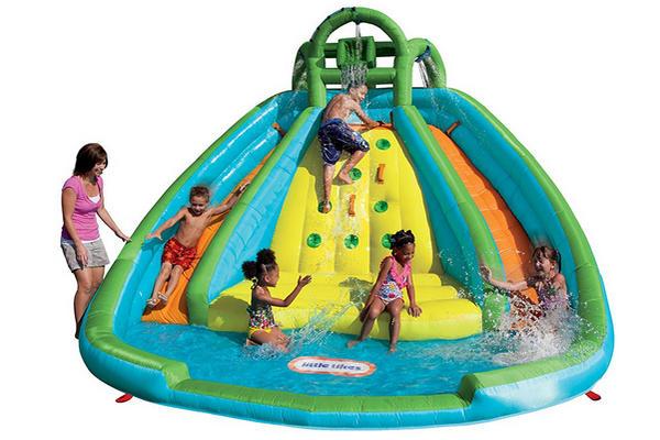 缩略图 | 【打折快买】Little Tikes 落基山充气水上公园:玩水、滑梯、攀登,一个都不能少!
