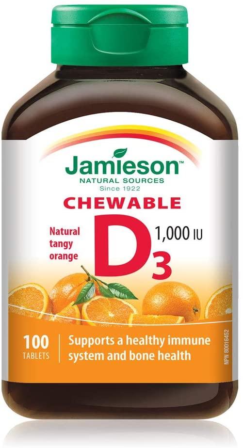 缩略图 | 快抢!Jamieson维生素D3咀嚼片 4.99加元,比沃尔玛还便宜!
