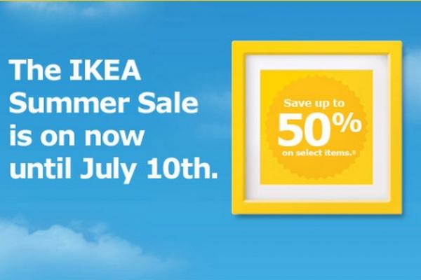 缩略图 | 【优惠快报】宜家 IKEA 夏季大促销低至5折,周末快去逛逛吧!