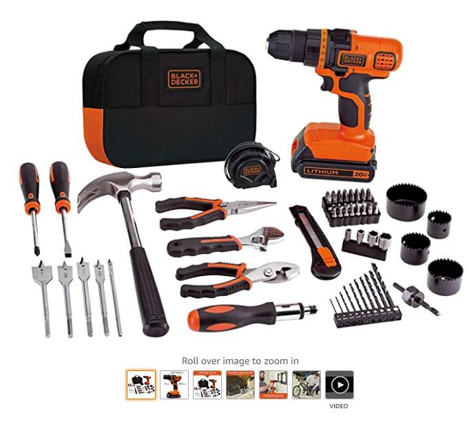 缩略图 | 黑五大优惠!Black + Decker 家用电动工具、便携式工具台3.6折起!