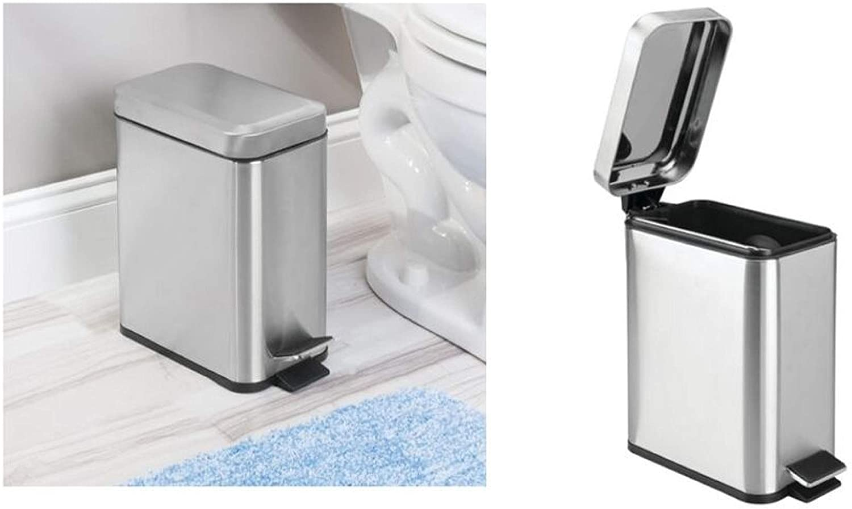 缩略图 | 便宜了!iDesign  脚踩式不锈钢垃圾桶 14.96加元!