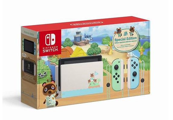 缩略图 | 【优惠快报】Nintendo 任天堂 《集合啦!动物森友会》限定版 Switch 便携式游戏机 399.96加元包邮!