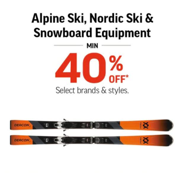 缩略图 | 【清仓大促销】Sport chek 滑雪装备/冬衣雪裤40%off啦,另有10%bonus!