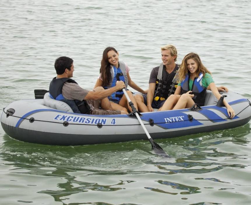 缩略图 | 好不容易等到了夏天,买个小船出去浪!4人坐充气船/橡皮艇/钓鱼船 179.99加元包邮!