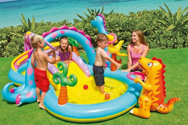 缩略图 | 【优惠结束】小朋友超爱的恐龙乐园充气式儿童戏水池 73.34加元包邮!亚马逊销量冠军!