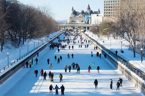 缩略图 | 渥太华 - 加蒂诺「溜冰」好去处:释放如火的激情,感受冬日的浪漫!