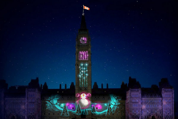 缩略图 | 【加拿大第34届圣诞灯】万千多彩灯光:驱走冬日的寒冷,闪耀节日的热情!
