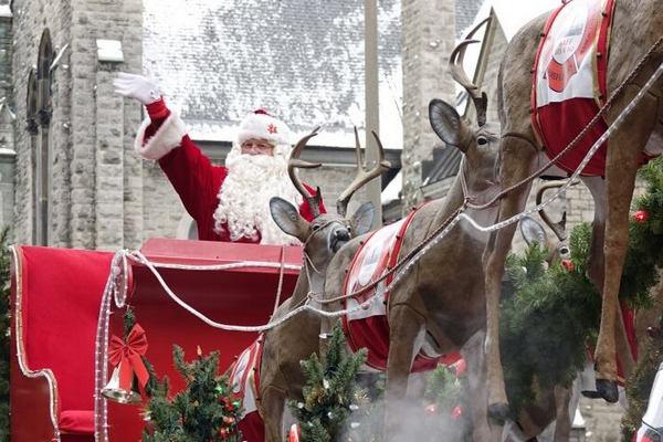 缩略图 | 2019渥太华圣诞老人游行花车来啦!各个社区游行一览表!