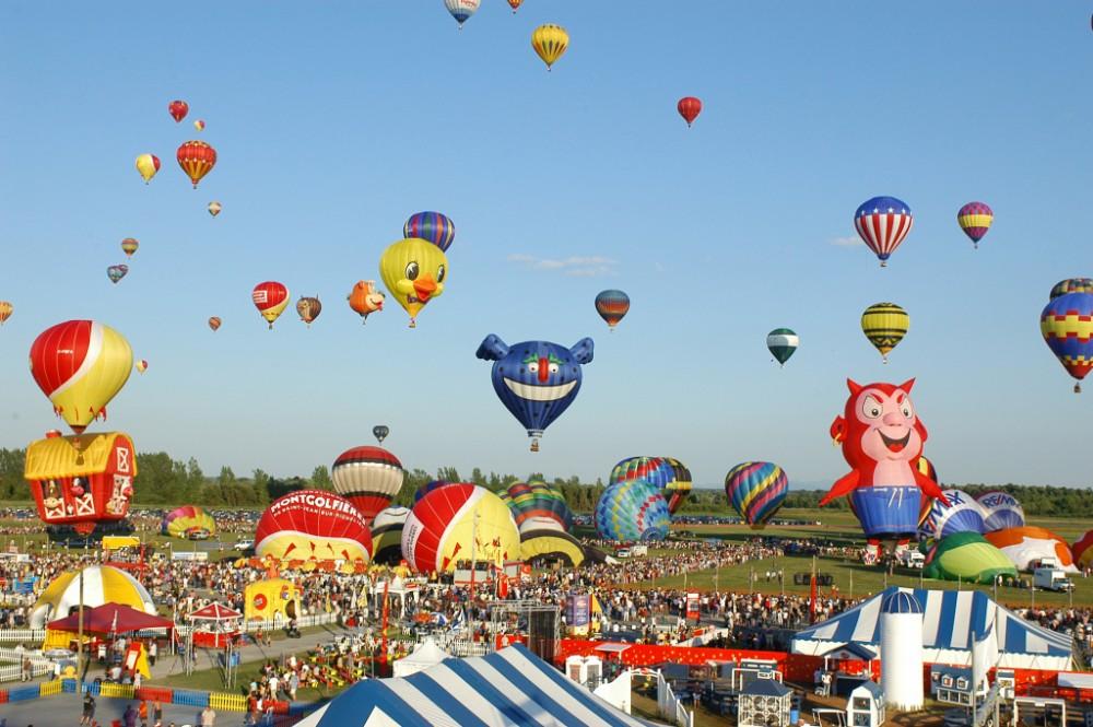 缩略图 | 2018年加蒂诺热气球节:绚丽多彩的热气球,300多场表演活动,长周末好Happy!