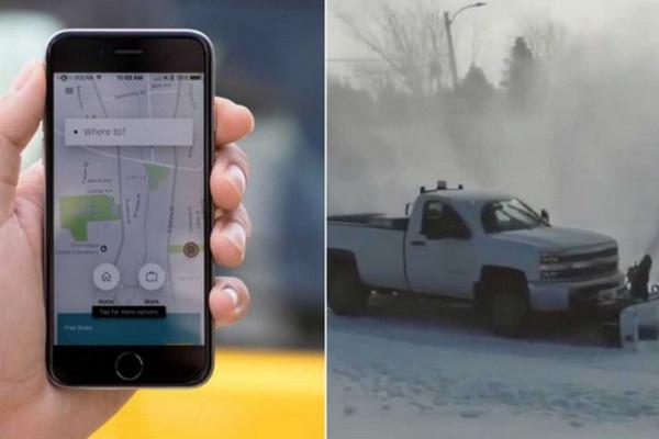 缩略图 | 加拿大公司推出优步上门铲雪App,再也不用上班现挖车