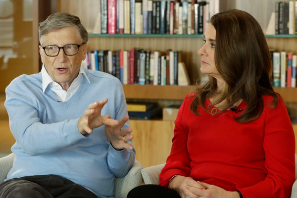 缩略图   惊爆!比尔·盖茨宣布离婚,网友唏嘘27年婚姻就这么散了!