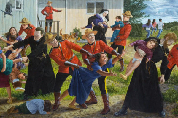 缩略图   震惊世界!215名加拿大儿童被恶魔学校埋入地基!最小仅3岁!