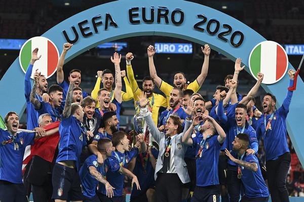 缩略图 | 意大利点球大战4-3击败英格兰,时隔53年再夺欧洲杯!