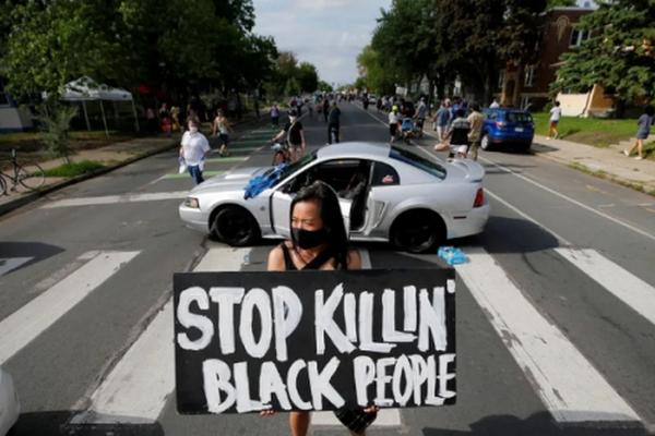 缩略图 | 全美抗议蔓延:底特律19岁抗议者中枪身亡