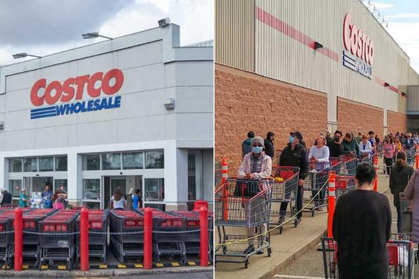 缩略图 | 加拿大Costco推出新规:所有顾客进店必须戴口罩