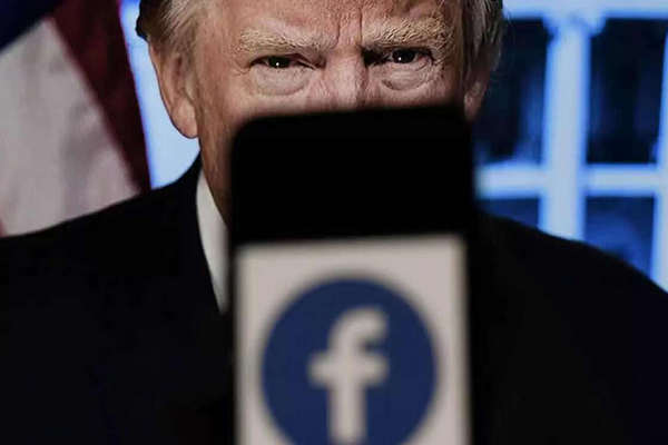 缩略图 | 脸书宣布将特朗普账号封禁时间延长至2023年