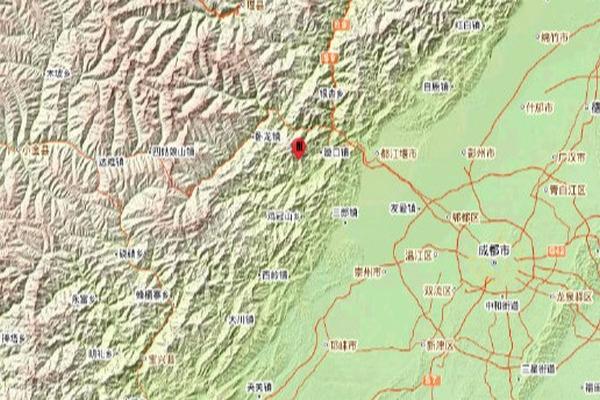 缩略图 | 汶川发生4.8级地震,成都等多地震感明显