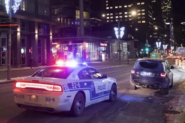 缩略图 | 宵禁第一晚:马路空无一人,警察满街抓人,几十人被罚$1550!