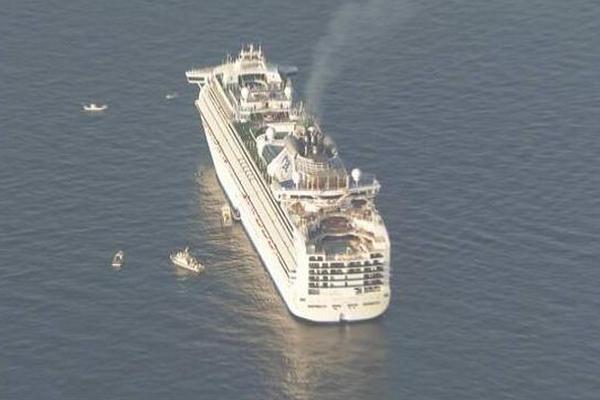 缩略图 | 日本豪华游轮3700人聚集感染:10人确诊