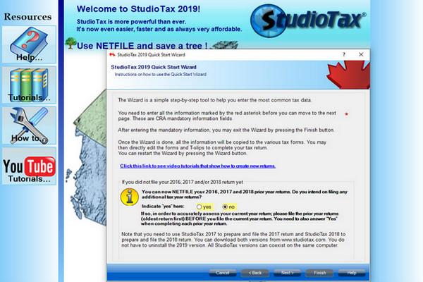 缩略图 | 加拿大免费报税软件:StudioTax