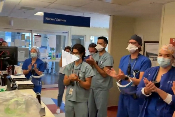 缩略图 | COVID-free!14月来首次0位ICU新冠患者:提前进入第二阶段,Delta变种是个大变数!