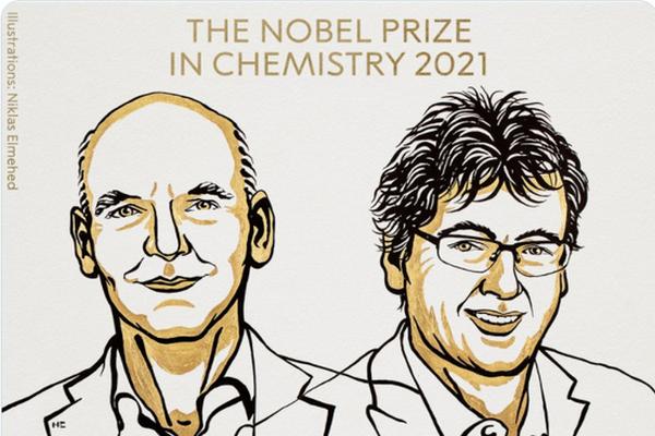 缩略图 | 2021年诺贝尔化学奖揭晓:不对称有机催化研究获奖