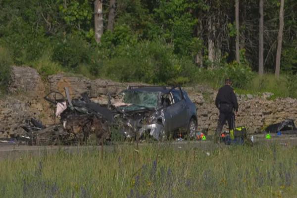 缩略图 | 恐怖!5车连撞,2人死亡,渥太华发生重大车祸事故!