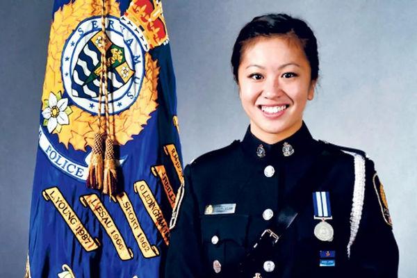 缩略图 | 加拿大华裔女警察自杀:与男上司关系扑朔迷离