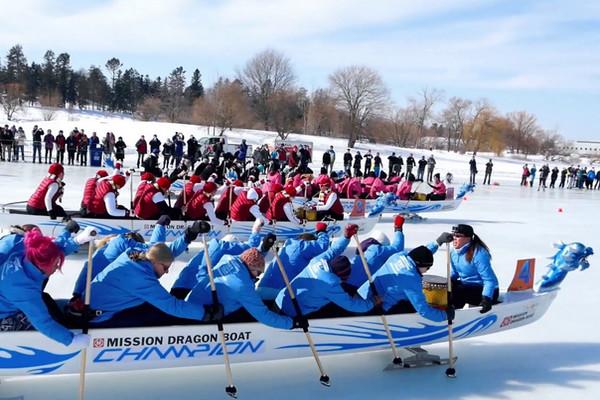 缩略图 | 【渥太华国际冰舟节】体验同舟共济,弘扬中华文化!华人冰舟队期待您的加入!