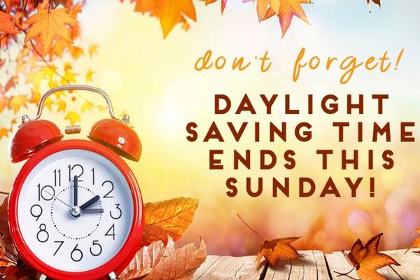 缩略图 | 周日开始,2020年夏令时结束,冬令时开启,又可以多睡一小时啦!