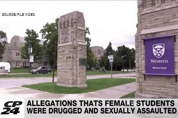 缩略图   性侵不报警?安省大学30名女孩遭下药性侵,肇事者或被开除!