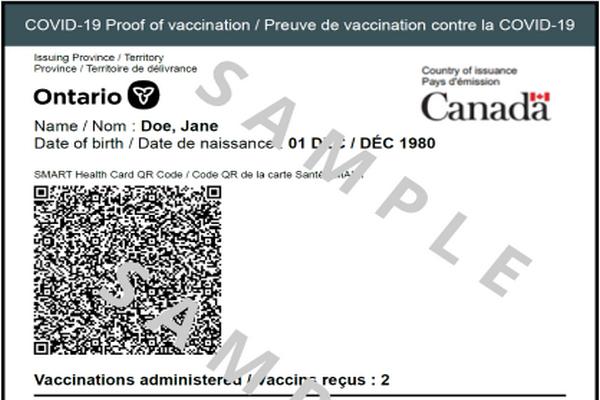 缩略图   安省疫苗证书二维码来了:手把手教你如何下载
