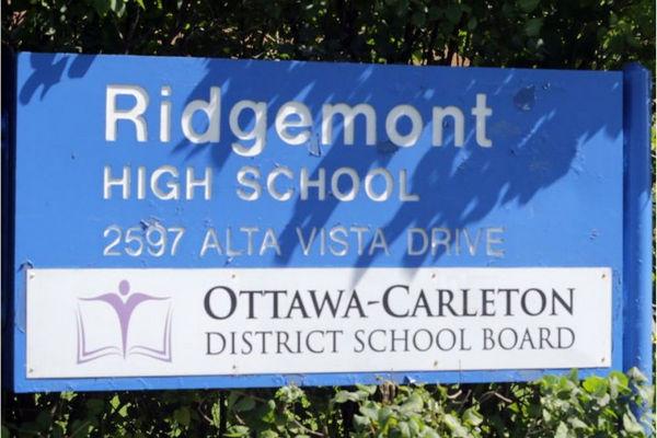 缩略图 | 小心感染!渥太华Ridgemont 高中出现结核感染病例学生,150名学生和工作人员可能接触过!