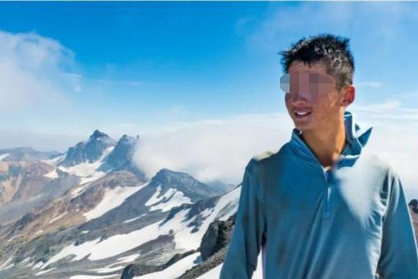 缩略图 | 加拿大华人小哥攀山时不慎坠亡,三天前刚过完26岁生日