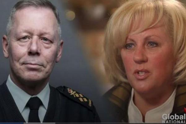 缩略图 | 加拿大女少校状告参谋长:亲子鉴定孩子就是他的
