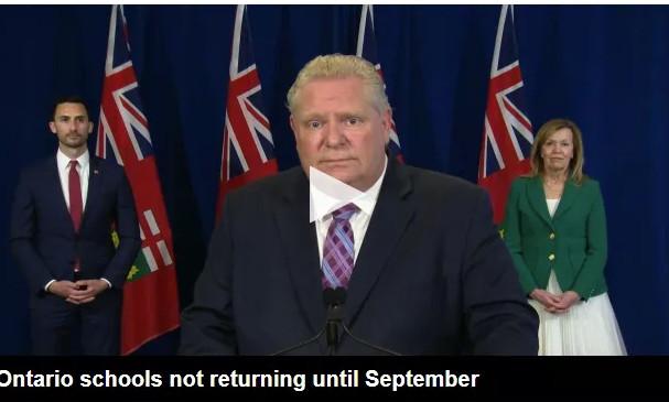 缩略图 | 重磅!安省学校将推迟到9月再重开! 美加边境推迟解禁!