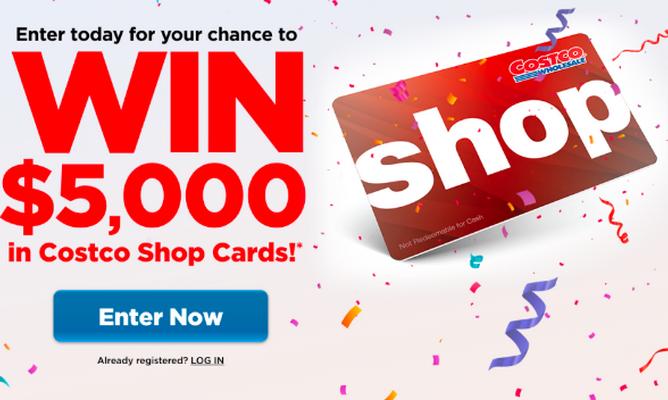 缩略图 | Costco会员线上大活动:$5000 Gift Card,输入邮箱就能领!限时,快抢!