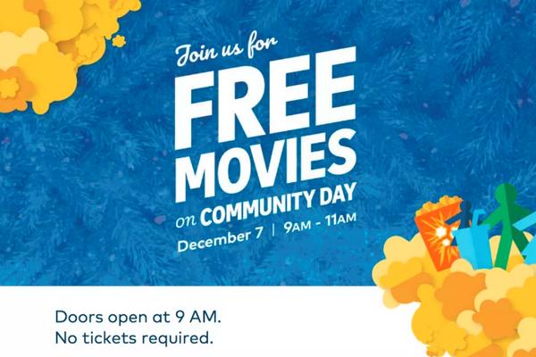 缩略图 | 圣诞节Cineplex免费看电影!今年定在这一天啦!