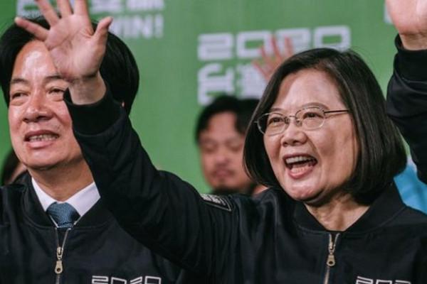 缩略图 | 【快讯】2020年台湾总统选举:蔡英文以破纪录得票数获胜连任